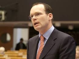 Minister for Local Government Simon Coveney. Branded MacSharry 'a joke' during Dail clashes on finances of Sligo County Council.