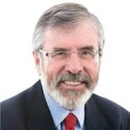 Gerry Adams, Leader, Sinn Fein.