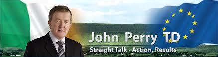 John Perry, TD, Fine Gael.