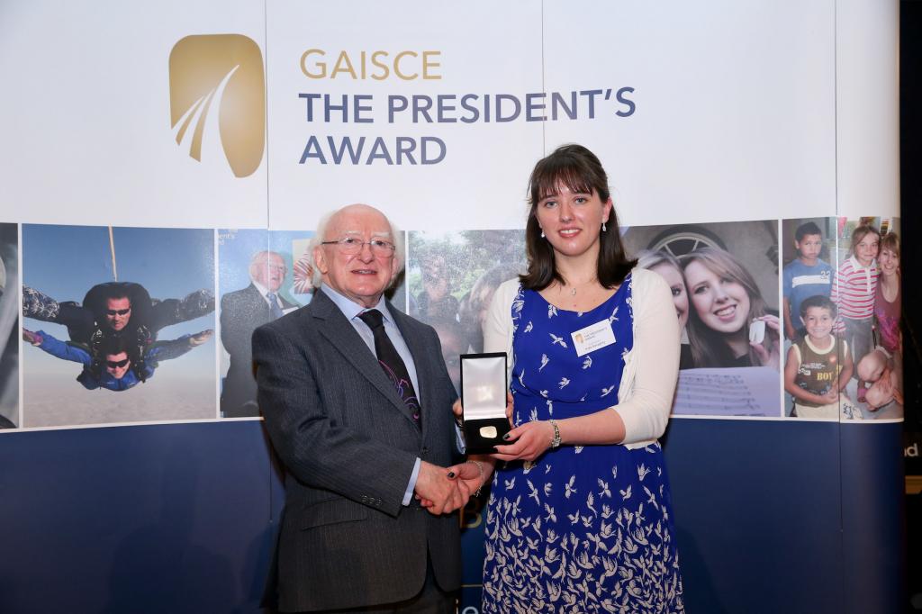 Kate Geraghty Gaisce Gold