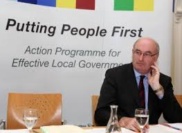 EU Commissioner & former Environment Minister, Phil Hogan
