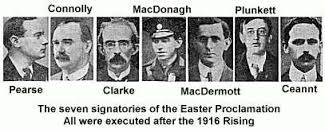 Signatories of Easter Proclamation