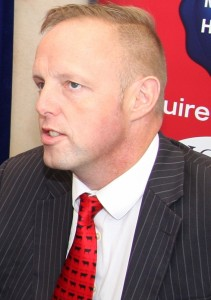 Eddie Punch, General Secretary, ICSA