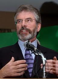Gerry Adams, TD, Leader, Sinn Fein.