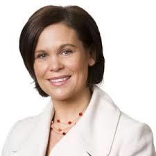Mary Lou McDonald, TD, Deputy Leader, Sinn Fein.